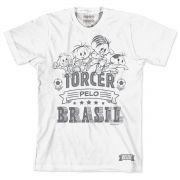 Camiseta Turma da Mônica A Turma Jogando