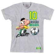 Camiseta Turma da Mônica Jogador Cascão 2