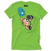 Camiseta Turma da Mônica Jogador Cebolinha