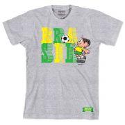 Camiseta Turma da Mônica - Mônica Brasil