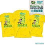 Camiseta Turma da Mônica Personalizada Eu Sou Camisa 3