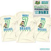 Camiseta Turma da Mônica Personalizada Eu Sou Camisa 7