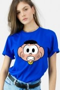 Camiseta Turma da Mônica Rostinho Cascão