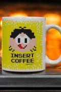 Caneca Turma da Mônica Magali Insert Coffee