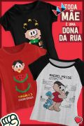 Combo Turma da Mônica Nerd Mommy + Caixa Presente