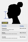 Kit com 4 Máscaras Turma da Mônica Mingau