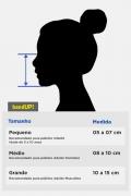 Kit com 7 Máscaras Turma da Mônica Mônica e Magali