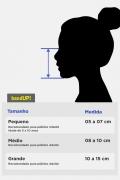 Máscara Turma da Mônica Magali P&B