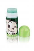 Meu Mini Lip Balm Turma da Mônica Cebolinha Maça Verde