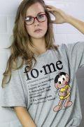 T-Shirt Feminina Turma da Mônica Magali Fome