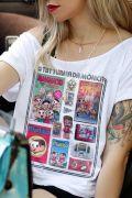 T-shirt Premium Feminina Turma da Mônica #TBT