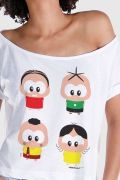 T-shirt Premium Feminina Turma da Mônica Toy A Turma