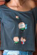 T-shirt Premium Feminina Turma da Mônica Toy Angry Mônica