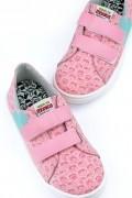 Tênis com Velcro Turma da Mônica Icônico Pink