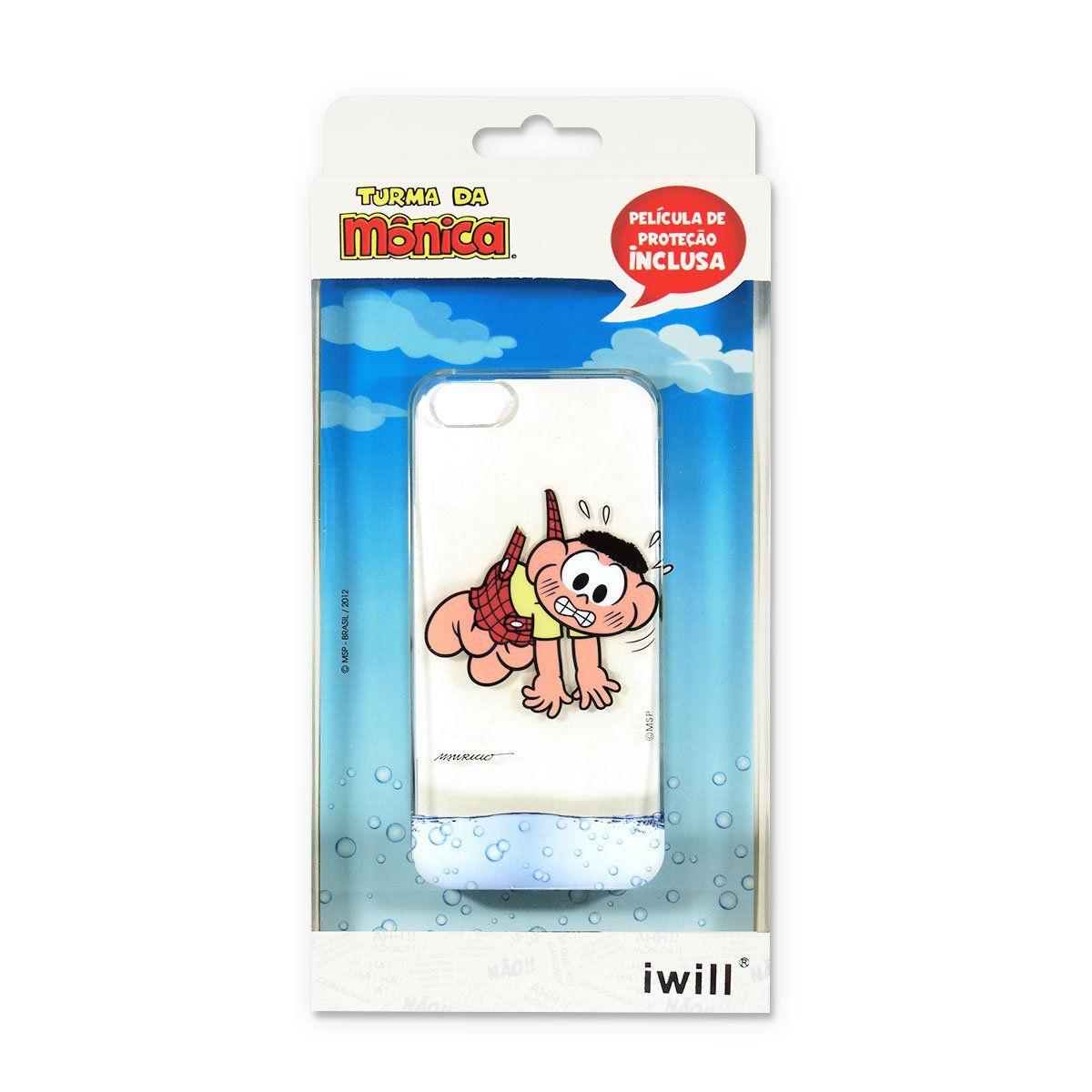 Capa Para iPhone Turma da Mônica - Cascão Modelo 2