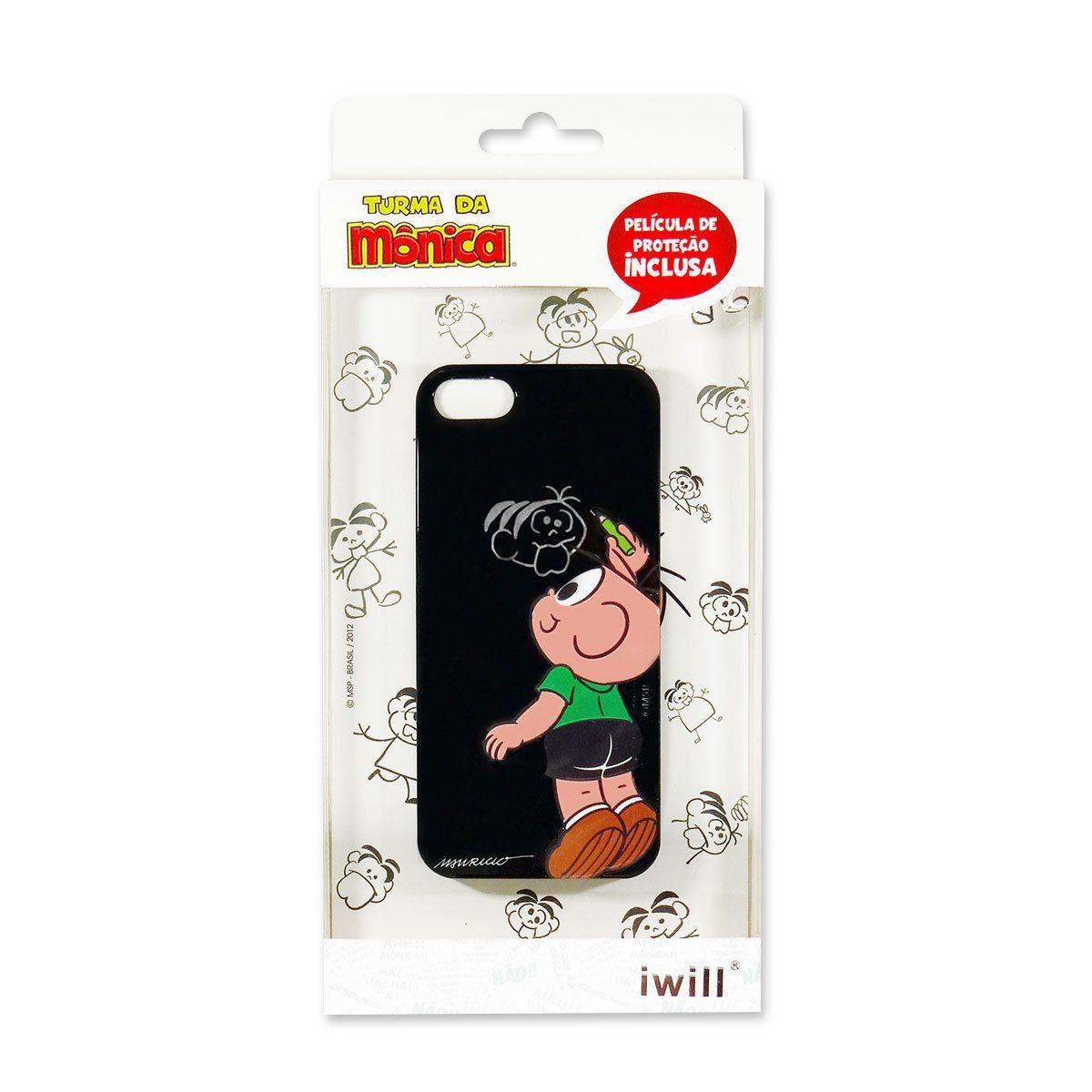 Capa Para iPhone Turma da Mônica - Cebolinha