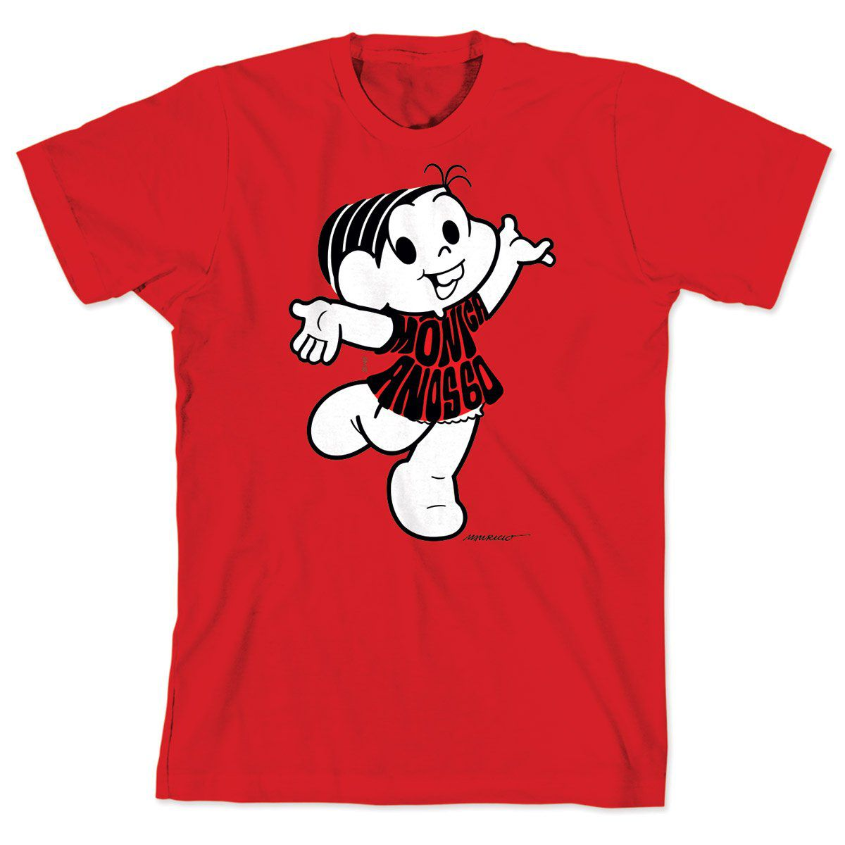 Camiseta Turma da Mônica 50 Anos Modelo 1 Anos 60