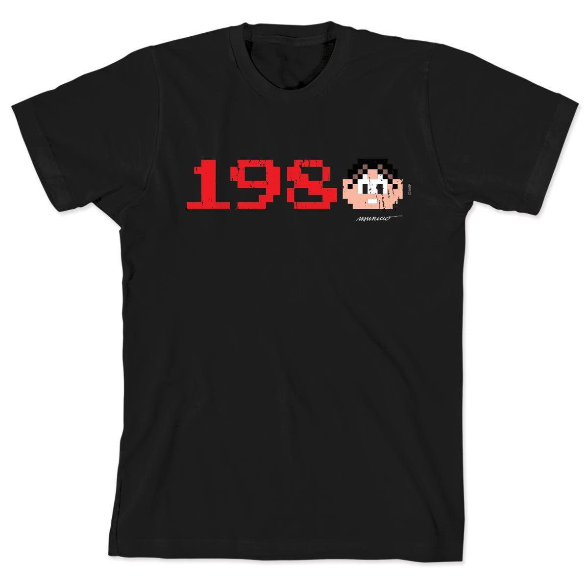 Camiseta Turma da Monica 50 Anos - Modelo 3 Anos 80