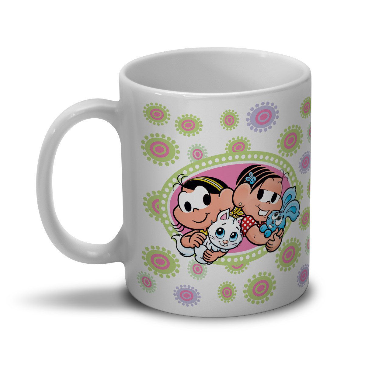 Caneca Turma da Mônica Kids - Mônica e Magali Little Pet
