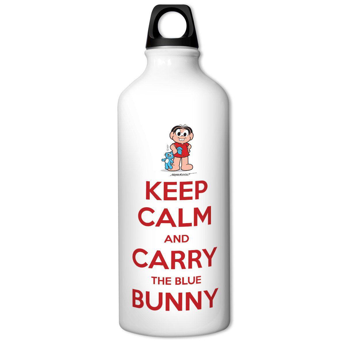 Squeeze Turma da Mônica Cool - Keep Calm And Carry The Blue Bunny