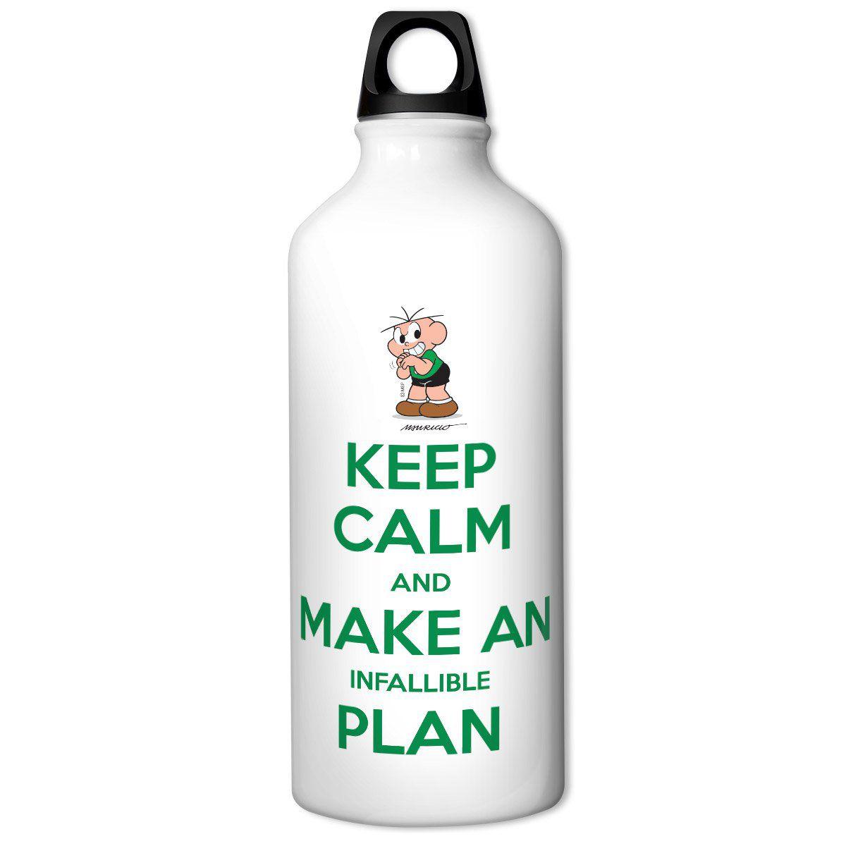 Squeeze Turma da Mônica Cool - Keep Calm And Make Infallible Plan