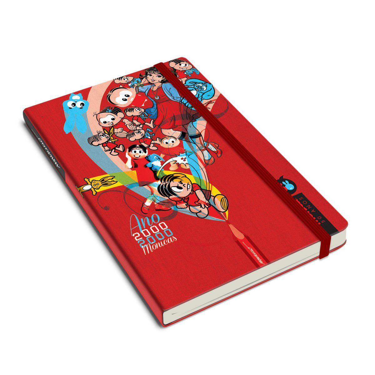 Caderneta Turma da Mônica 50 Anos - Modelo 1 Anos 2000