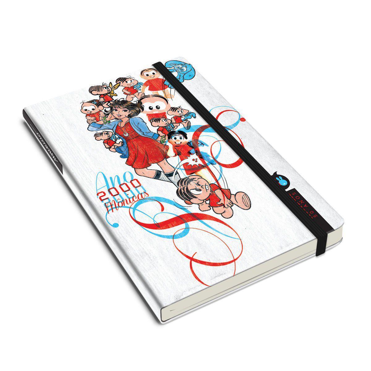 Caderneta Turma da Mônica 50 Anos - Modelo 2 Anos 2000