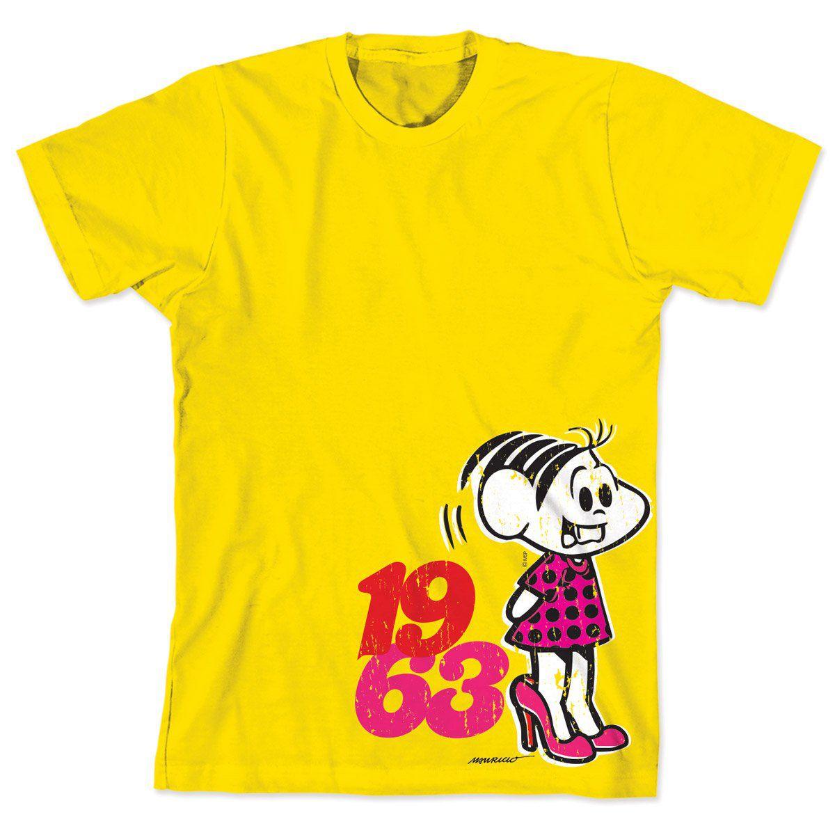 Camiseta Turma da Mônica 50 Anos Modelo 3 Anos 60
