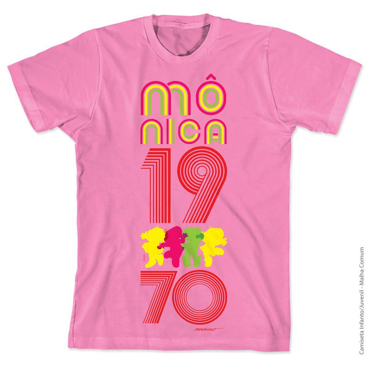 Camiseta Turma da Mônica 50 Anos Modelo 4 Anos 70