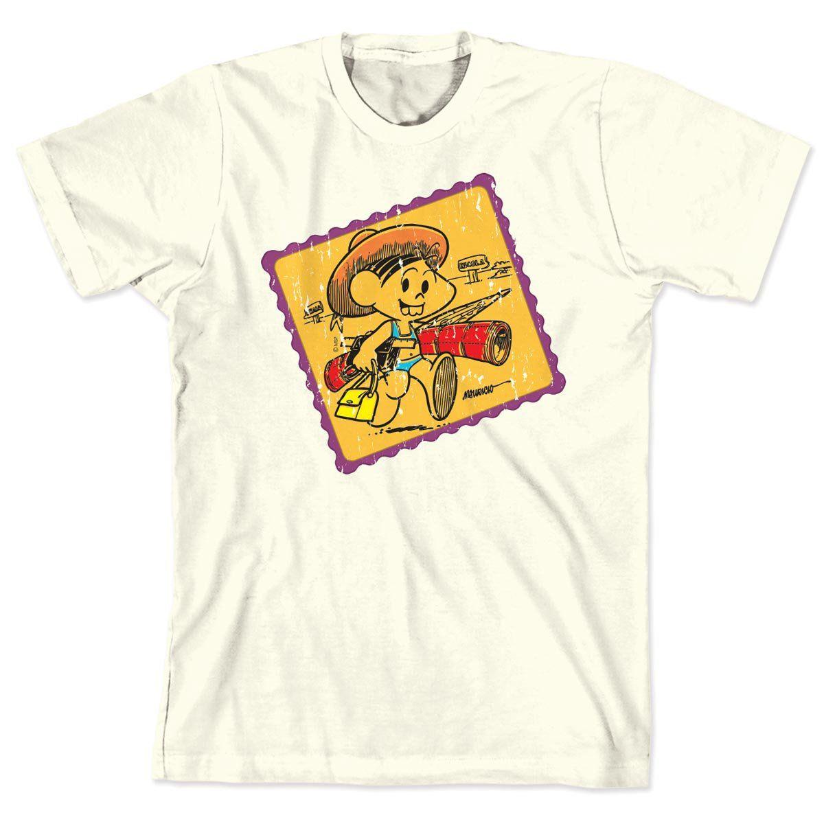 Camiseta Turma da Mônica 50 Anos Tradicional Modelo 1