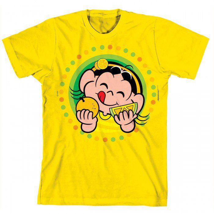 Camiseta Turma Da Mônica Kids Magali Frutas 2