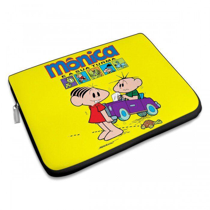 Capa Para Notebook Turma da Mônica 50 Anos - Mônica e a Sua Turma