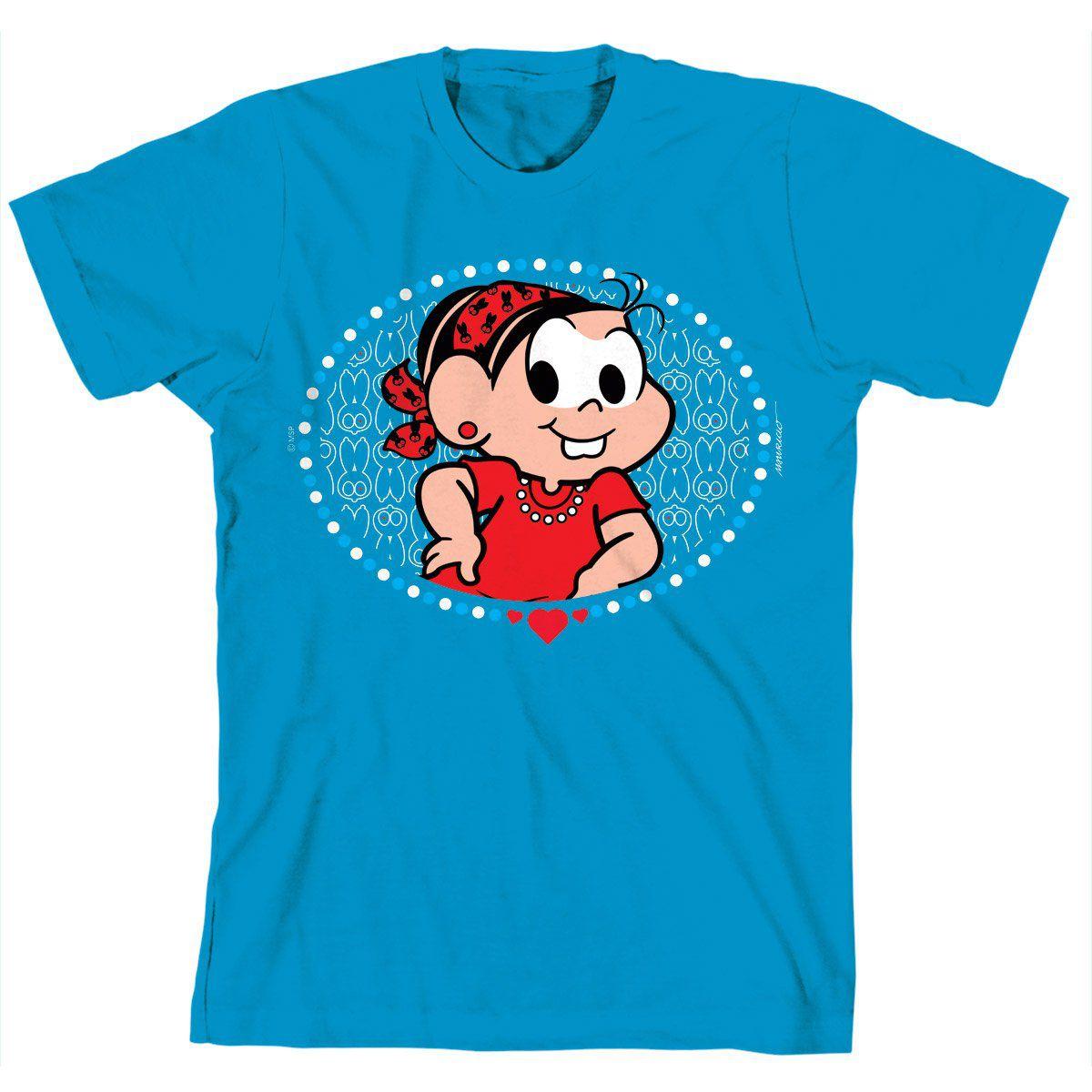 Camiseta Turma da Mônica Kids Mônica Blue Rock
