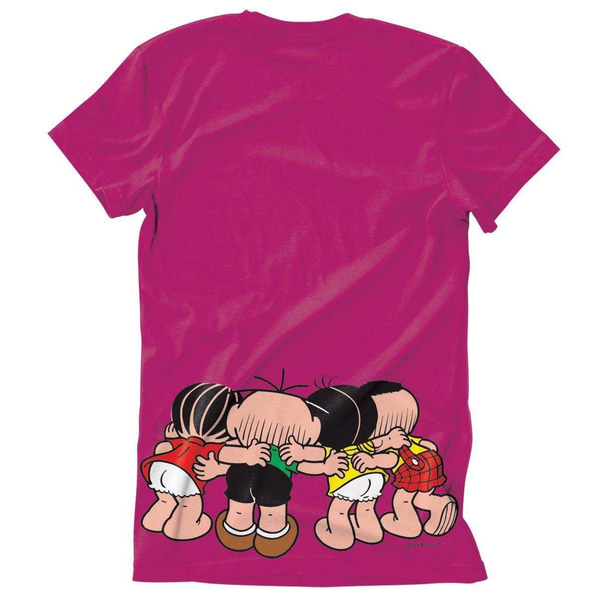 Camiseta Turma Da Mônica Kids Vamos Fazer Um Plano!