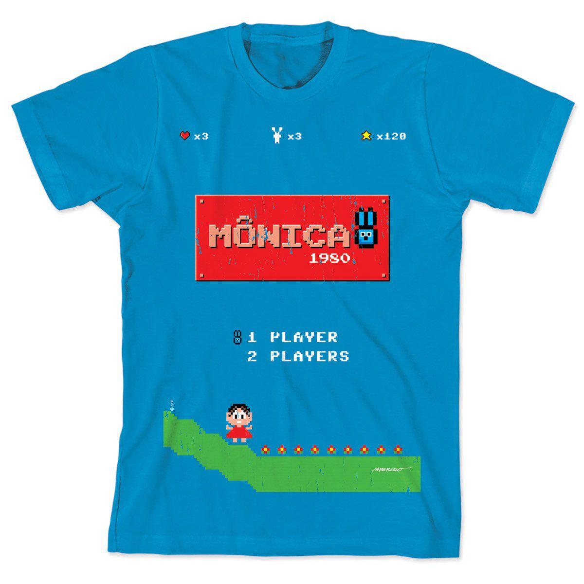 Camiseta Turma da Mônica 50 Anos Modelo 8 Anos 80