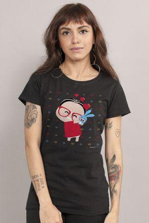 Camiseta Feminina Turma da Mônica Loving Toy