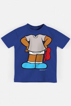 Camiseta Infantil Turma da Mônica Jeremias Corpinho