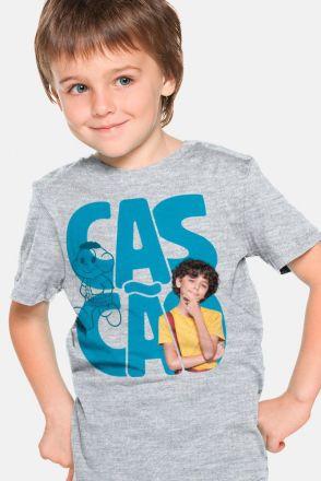 Camiseta Infantil Turma da Mônica Laços Cascão