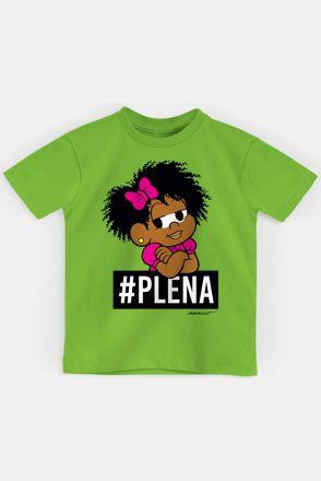 Camiseta Infantil Turma da Mônica Milena #PLENA