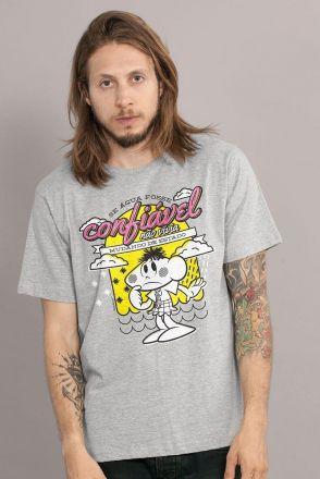 Camiseta Masculina Turma da Mônica Cascão Água Confiável