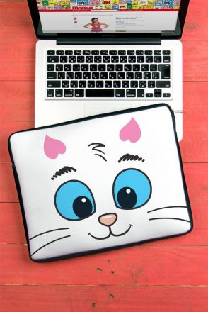 Capa Para Notebook Turma da Mônica Olhões Mingau