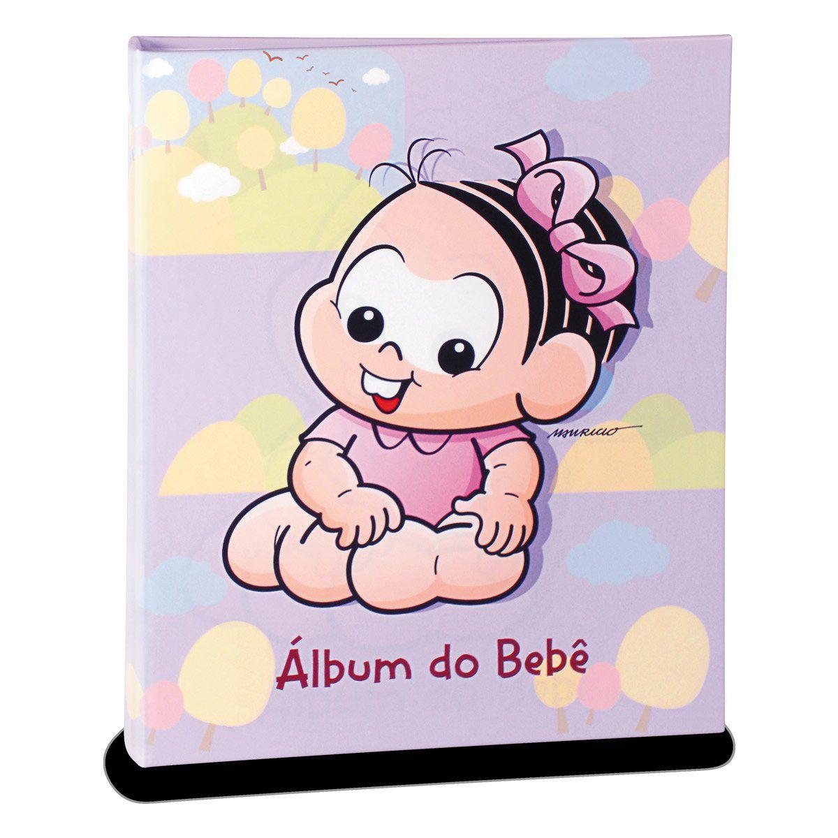 Álbum de Fotos Turma da Mônica Baby - Mônica 120fts