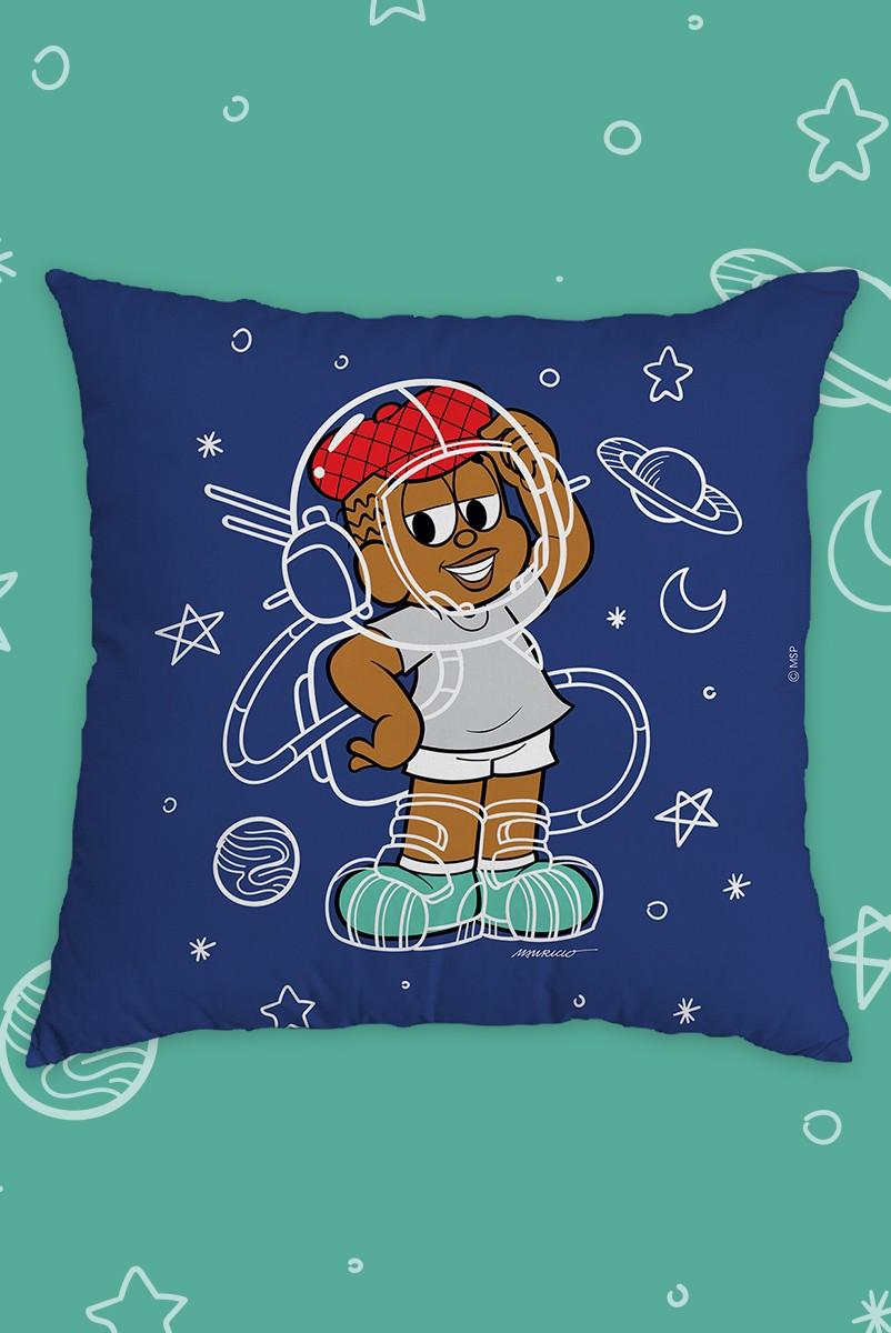 Almofada Turma da Mônica Jeremias Astronauta
