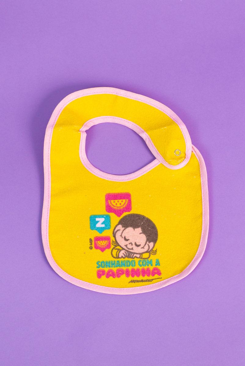 Babador Anatômico Impermeável Baby Magali