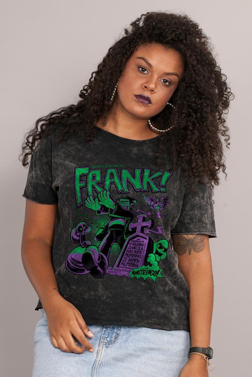 Blusa Feminina Turma da Mônica Frank
