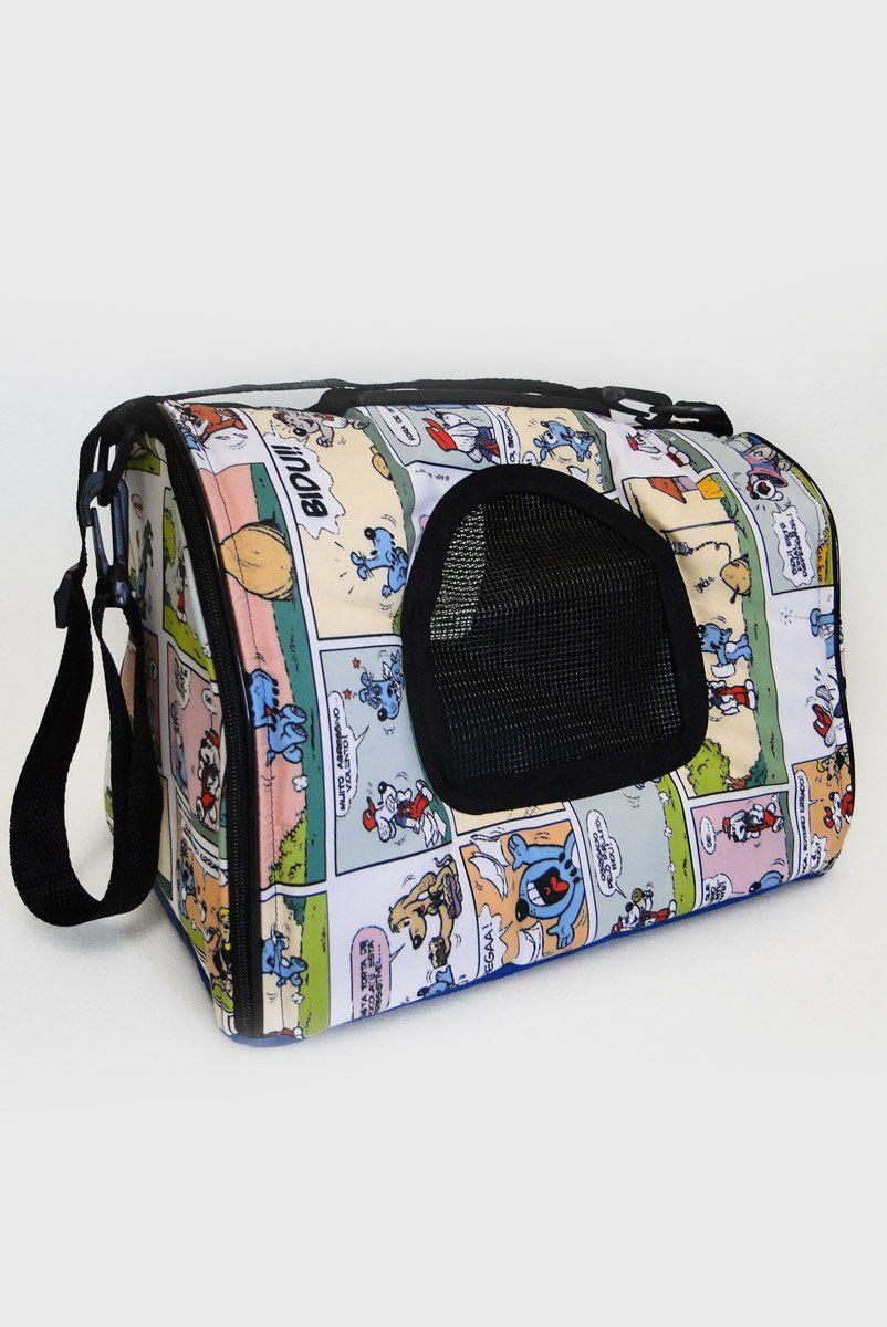 Bolsa de Transporte para Cães e Gatos Gibi Bidu