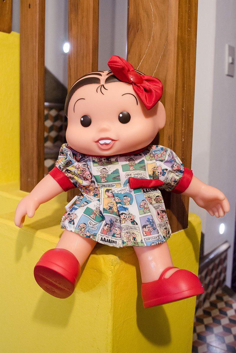 Boneco Turma da Mônica Quadrinhos