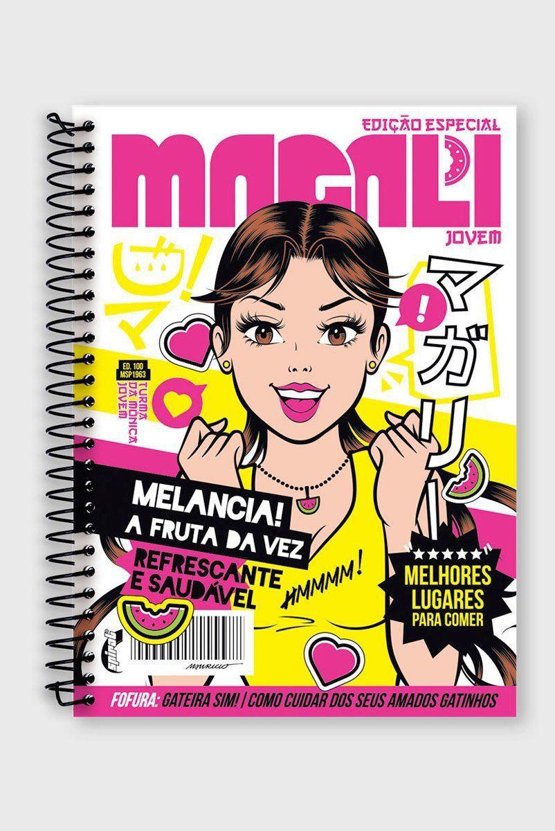 Caderno Magali Jovem 1 Matéria