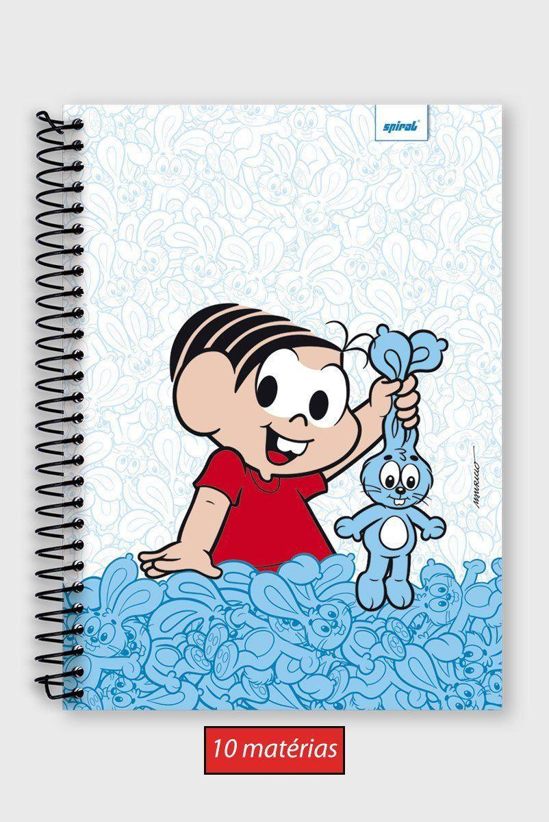 Caderno Mônica e Sansão 10 Matérias