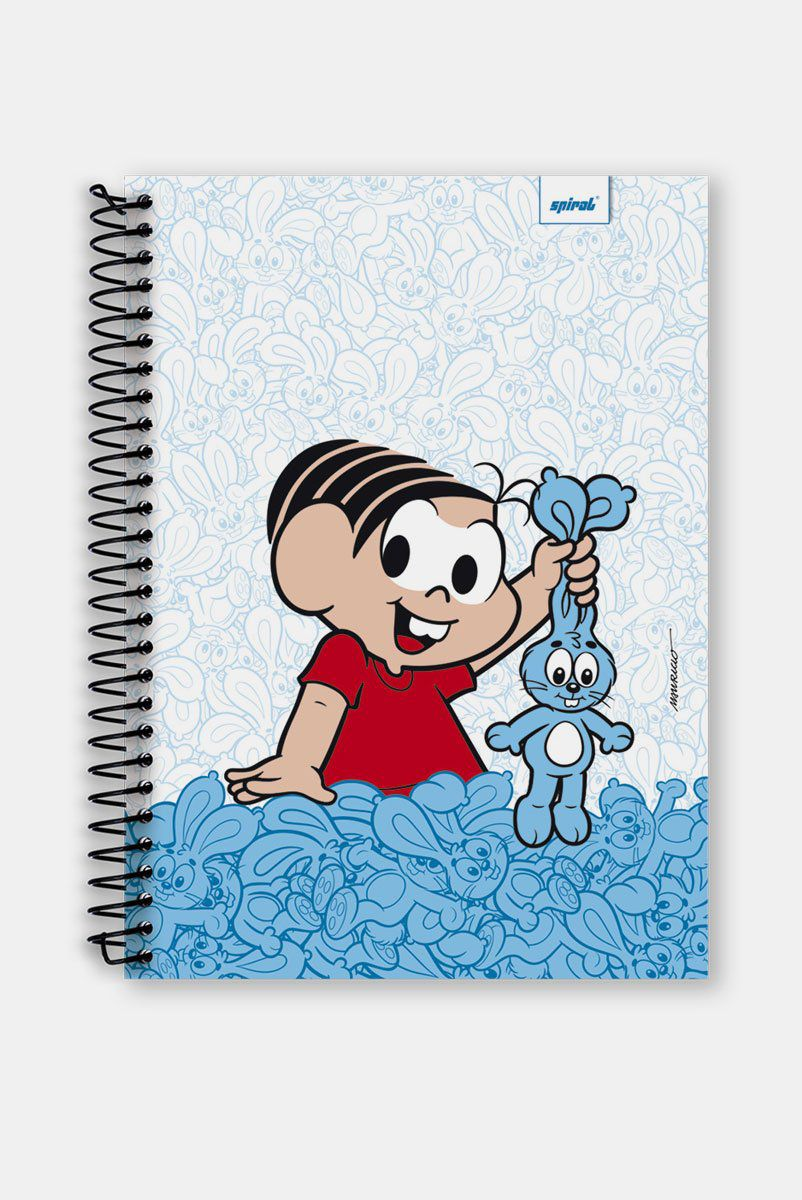Caderno Turma da Mônica Coelhos 1 Matéria